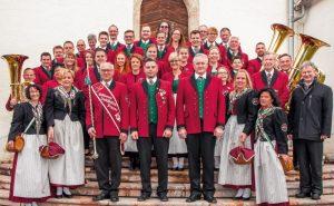 Die Mitglieder des MV Deutschfeistritz Peggau