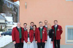 Der Vorstand des MV Deutschfeistritz-Peggau